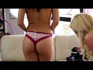 Hot Teen Swaps Cum To Get Porn Gig