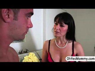 Milf Eva Takes Advantage To Cassandras Boyfriend And They Get Caught