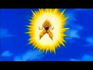 Dbz: Goku Screaming Ssj 3