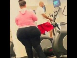 Big Ass Wide Hips At Gym