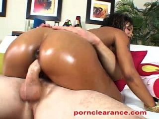 Lavish Sucks And Fucks Big White Cock