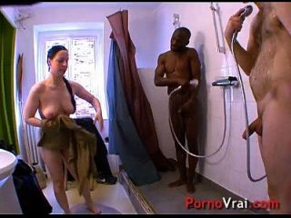 Young Slut Fucking With Two Guys!! Splendid Pussy! French Amateur