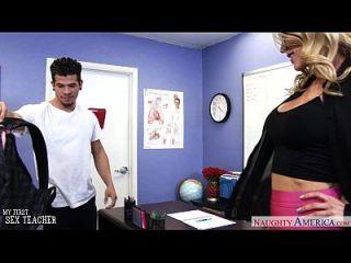 Busty Sex Teacher Sarah Jessie Gets Fucked
