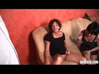 Bisexual German Milfs Share Cock