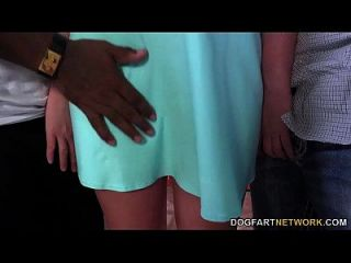 Brooke Wylde Having Her First Interracial Threesome