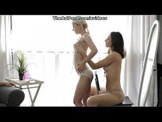 Blonde Or Brunette? Both! Scene 2