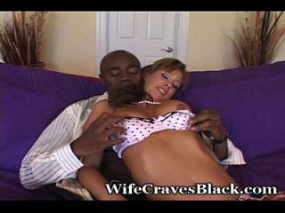 Huge Cock For White Swinger Wife
