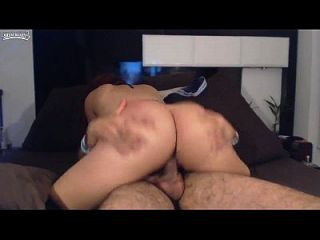 Big Booty Hot Girl Rides A Dick
