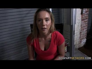 Hollie Mack Gets Interviewed Before Her First Ir Scene