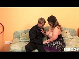 German Bbw Slag Gets Fat Tits Nailed