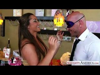 Hot Brunette Dani Daniels Fucking At Wedding