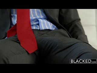 Blacked Hot Assistant Odette Delacroix First Bbc