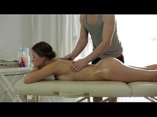 Anal Massage Scene With Cute Oiled Up Teen On His Table