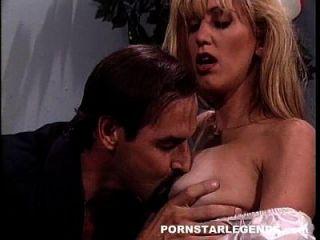 Classic Pornstar Fucked Taking Cum On Her Big Tits