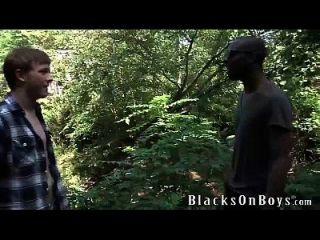Kolton Ray Works On A Big Black Cock