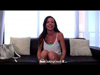 Castingcouch-x - Petite Teen Stella Gets Her Audition In The Porno Industry
