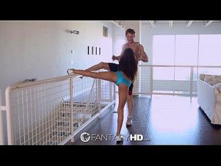 Fantasyhd - Chloe Amours Flexible Legs Are Wide Open For Dick