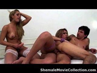 Hot Trans Girl Boy Trio!