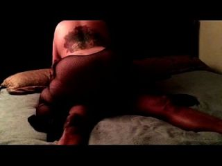 Bbw Latina Gloryanna Ride In Fishnet Bodystocking Rides Bbc