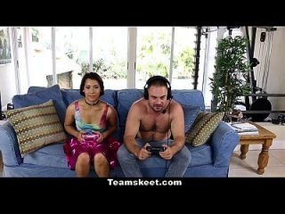 Cfnmteens - Gamer Girl Humiliates Loser Friend