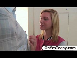 Honry Teen Chloe Unzips Her Lovers Pants And Sucks His Big Cock