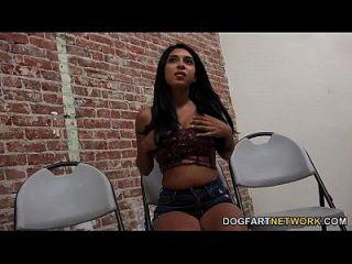 Alicia Rivers Having Anonymous Interracial Sex
