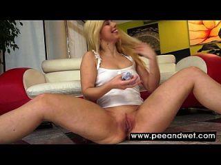Arousing Blonde Darling Nesty Is So Damn Sexy