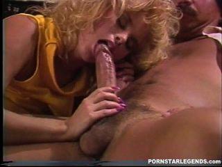 Petite 80s Pornstar Fucked By Big Cock Stud