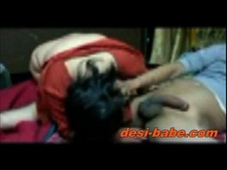 Desi Bengali Boudi Blowjob & Hardcore Homemade Sex With Davar desi-babe.com