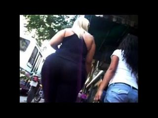 Candid Big Asses Selection Slow Motion 3