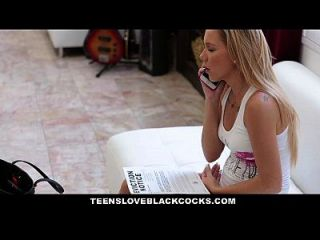 Teensloveblackcocks - Tiny Teen Seduces Bbc Landlord For Rent