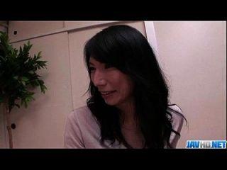 Yukari Brunette Japanese Gets Pumped In Rough Ways