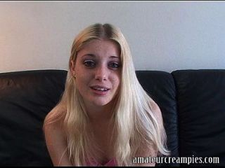 Charlotte Stokely Getting A Creampie On One Of Her First Videos Ever