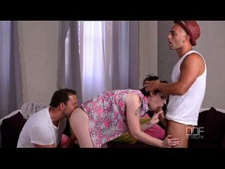 Lucia Love In Monster Cock Threesome
