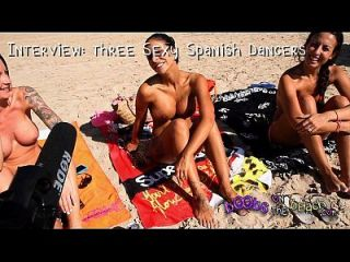 Topless Beach Interviews With Real Horny Sluts Abroad On Vacation