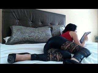 Girl Ripping Farts On Bed