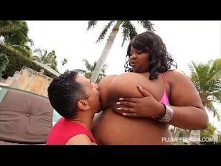 Huge Tit Ebony Bbw Pink Kandi Fucked By Pool In Miami