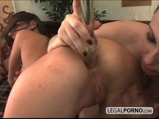 Rough Threesome Hot Ass Creampied Sl-2-03