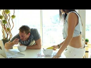 Hd Passion-hd - Deepthroat And Oral Creampie With Curvy Holly Michaels