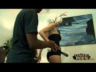 [league Of Porn] Riven The Exile - Bella Nikole Black  #1 [league Of Legends]