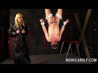 Monicamilf Is Strapon Pegging Her Sub Norwegian Femdom