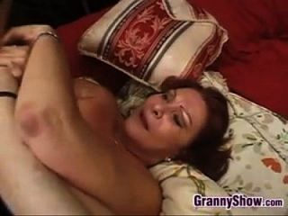 Sexy Granny Enjoying This Hard Cock
