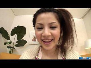 Amateur Rika Koizumi Loves Cum Dripping Her Throat