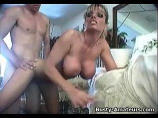 Busty Amateur Tera Sucking And Fucking