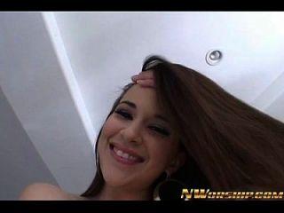 Hot Latina Girl Interracial Porn Big Black Dick