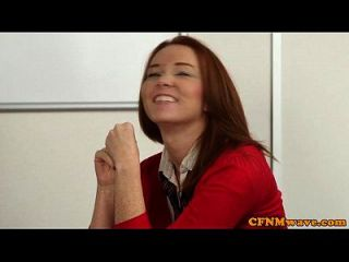 Cfnm Babe Victoria Summers Jerks Teacher