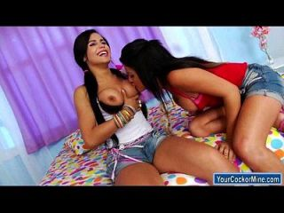 Shemale Bruna Butterfly Analed By Ts Beatrice Velmont And A Guy