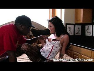 Andy Sandimas Pounded By Black Cock