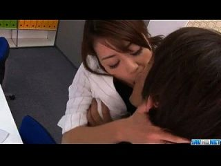 Strong Office Fuck Along The Boss For Maki Hojo