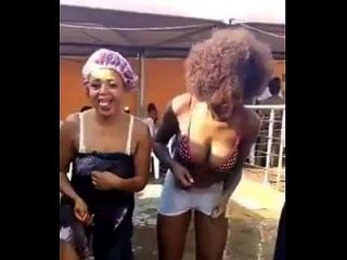 Naija University Babes Dancing Nude